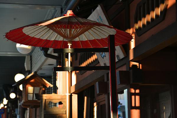 ombrellino parasole a Takayama