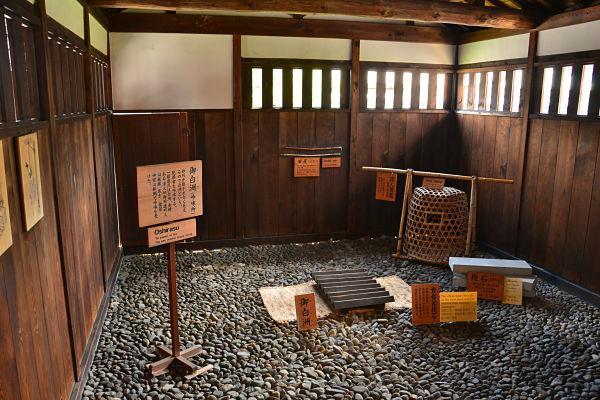 strumenti di tortura giapponese in Takayama Jinya