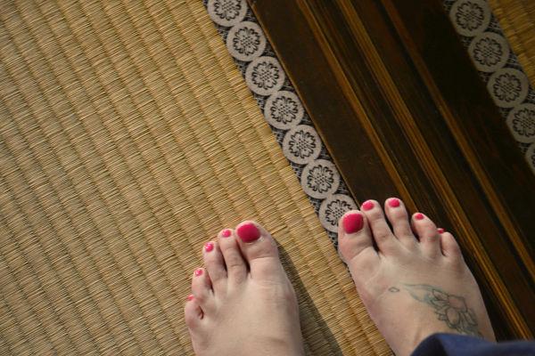pavimento tatami di Takayama Jinya