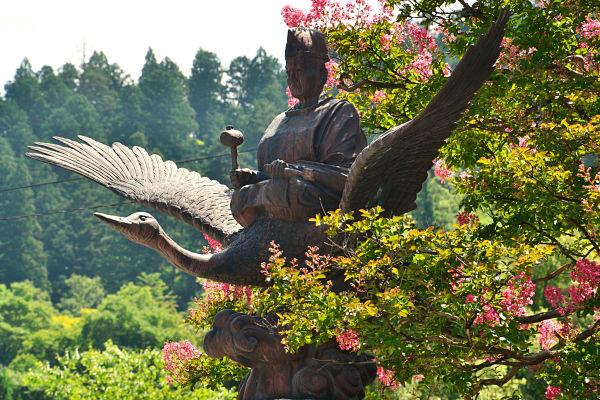 statua a Takayama