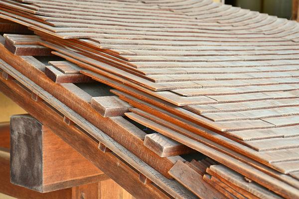 sezione tetto di Takayama Jinya