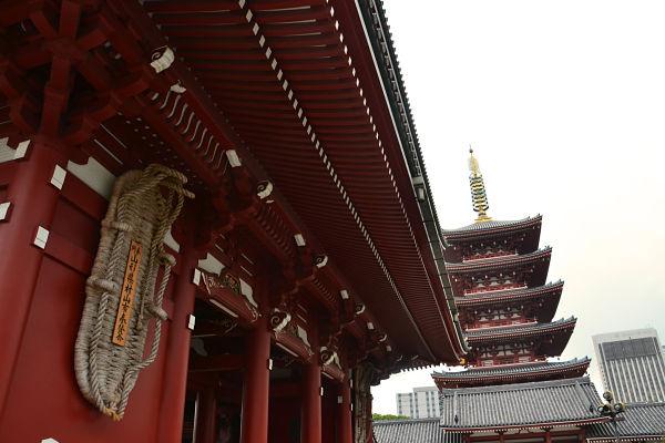 Tempio Sensoji Tokyo