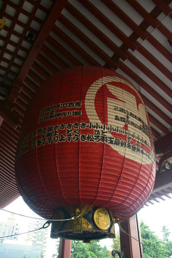 lanterna porta Tempio Sensoji Tokyo