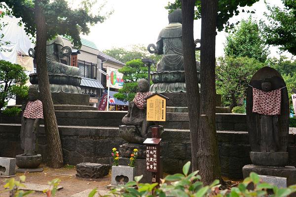 statue Tempio Sensoji Tokyo