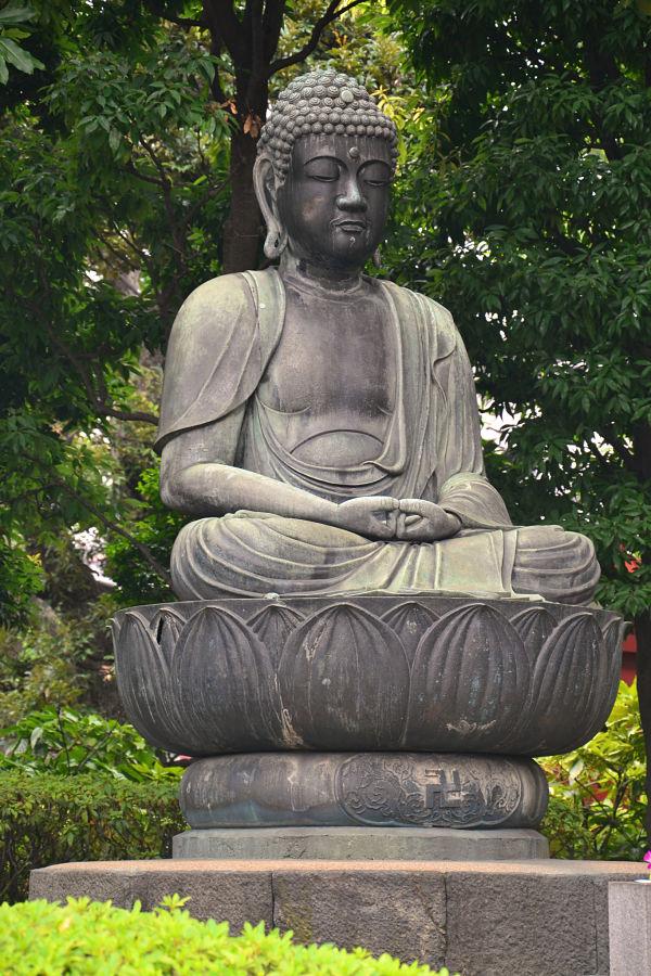 statua del budda Tempio Sensoji Tokyo