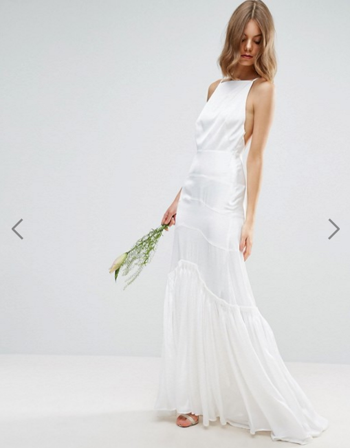 abito da sposa 2018 semplice