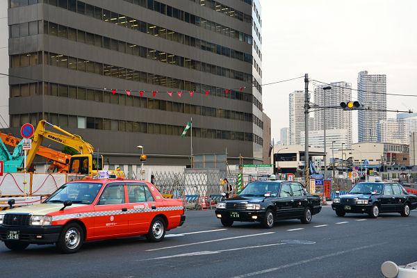 taxi a Tokyo