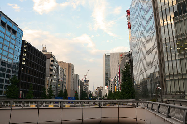 sopraelevata pedonale di Tokyo