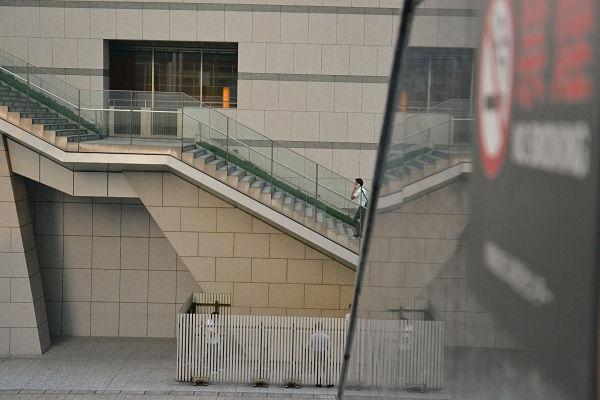 spazi per fumatori a Tokyo