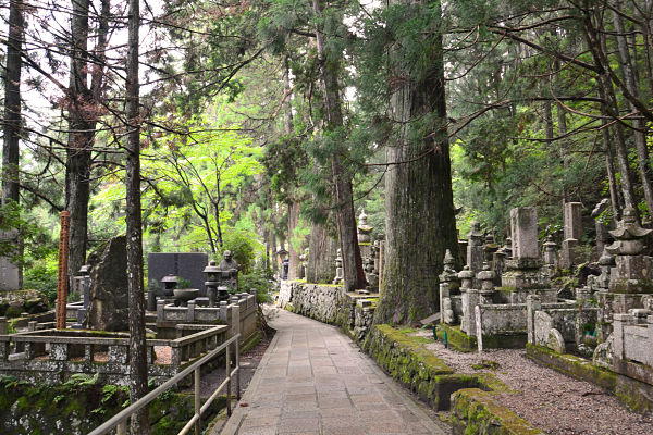 Monte Koya cimitero Okunoin | Viaggio di nozze in Giappone