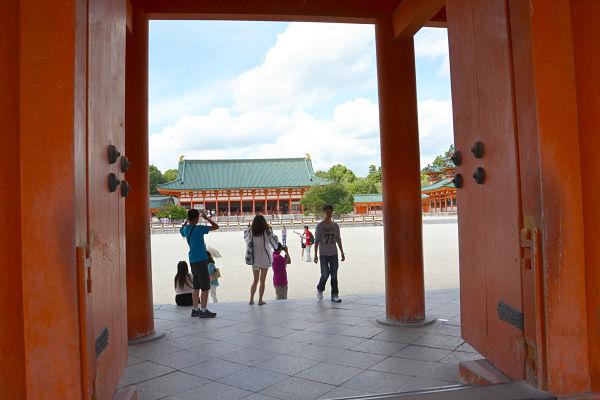 porta santuario Heian Kyoto