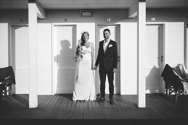 abito da sposa sirena azzurro sartoriale by Daisy and co