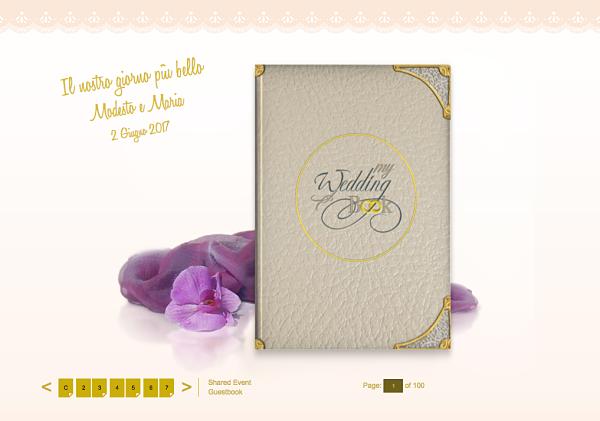 album virtuale My Wedding Book