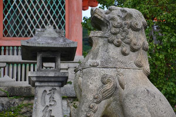 particolare Tempio di Kiyomizu, Kyoto