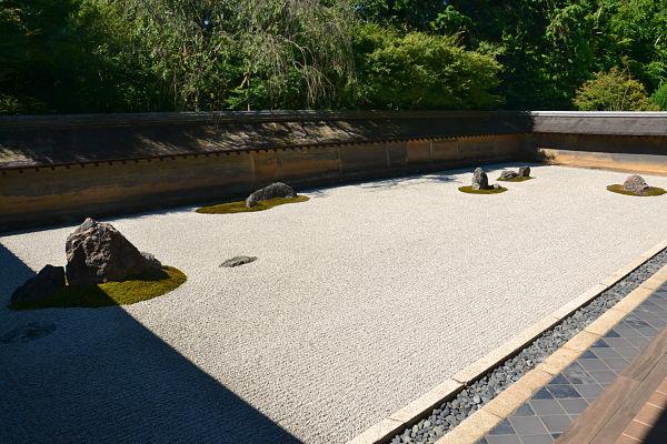 giardino secco Tempio Ryōan-ji