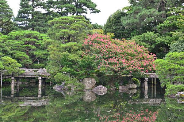giardino palazzo imperiale di kyoto