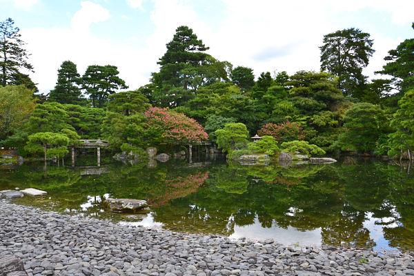laghetto giardino palazzo imperiale di kyoto