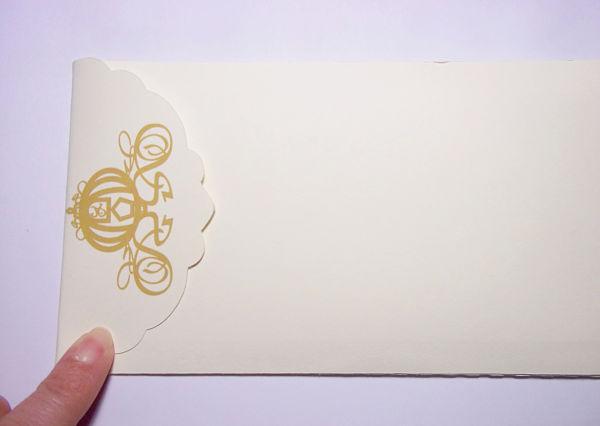 Matrimonio Tema Moderno : Partecipazioni di matrimonio con la carrozza cenerentola