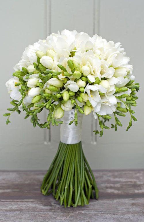 bouquet sposa fresia