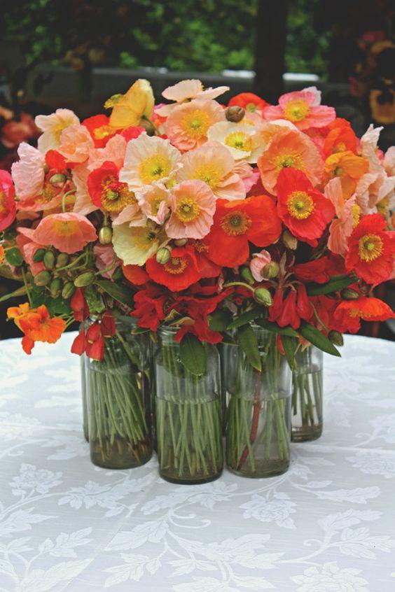 centrotavola matrimonio tulipani