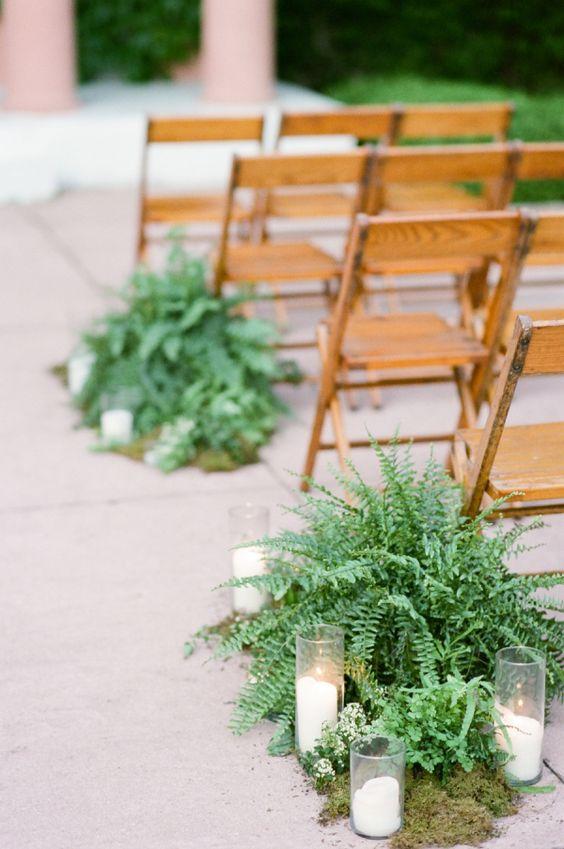 fiori economici matrimonio |la felce