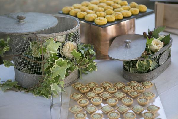 aperitivo di matrimonio a tema orchestrato dal Catering Fuori Rosa