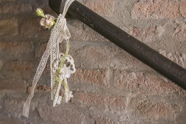 matrimonio a tema chiavi antiche