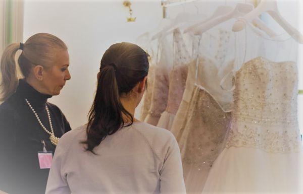 abito sposa corto costa