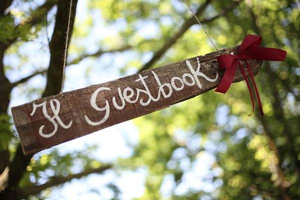 guest book matrimonio a tema ciliegie