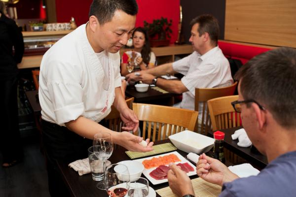 Dove mangiare giapponese a Praga