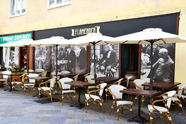 locali città vecchia Bratislava