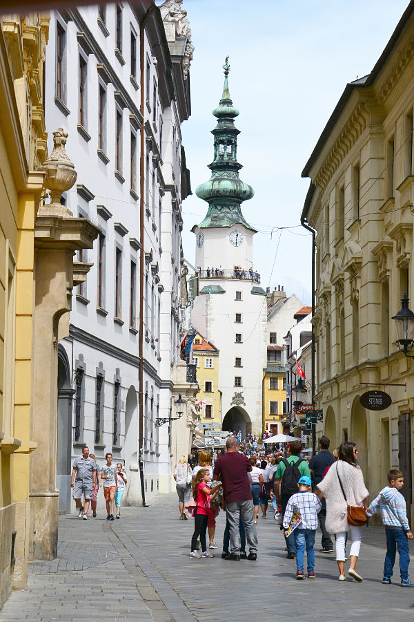 centro storico Bratislava