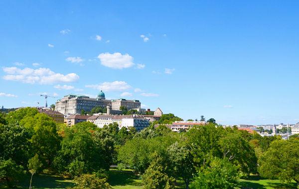la collina Gellert Budapest