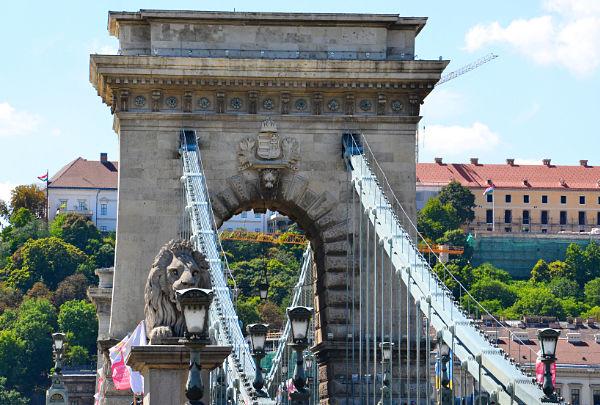 ilPonte delle catene di Budapest