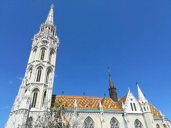 la Chiesa di Matyas di Buda