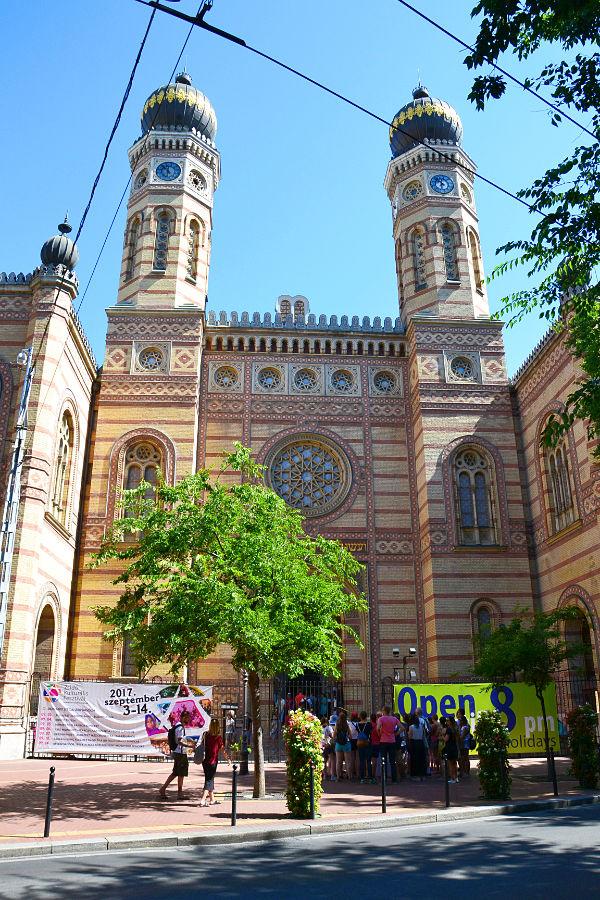 la Sinagoga di Budapest