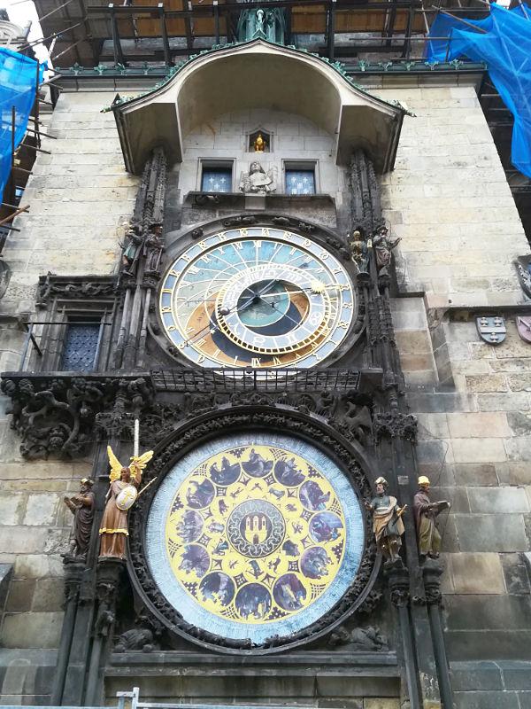 la torre del municipio di Praga