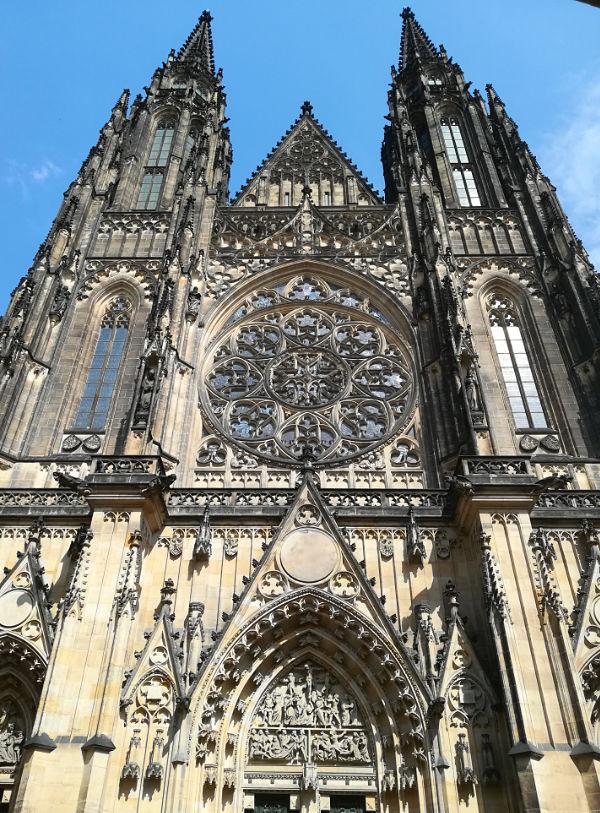 facciata Cattedrale di San Vito Praga