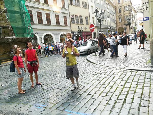 vie di Praga