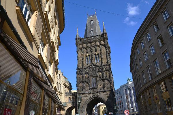 la Torre delle Polveri Praga
