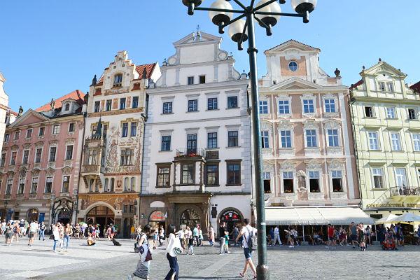 Staroměstské náměstí Praga