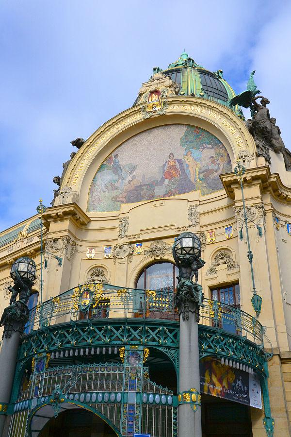 Municipal House di Praga