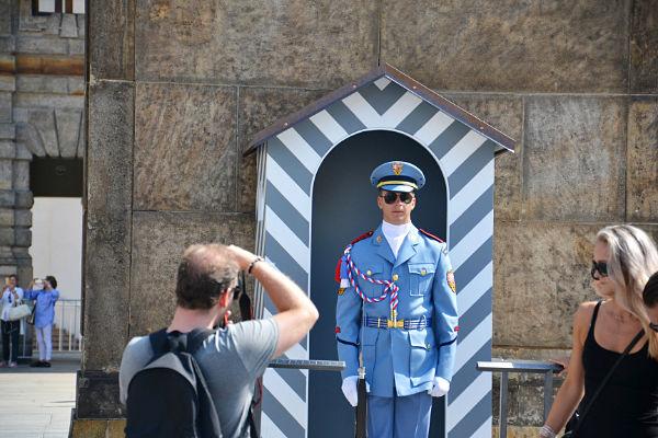 guardia del Castello di Praga