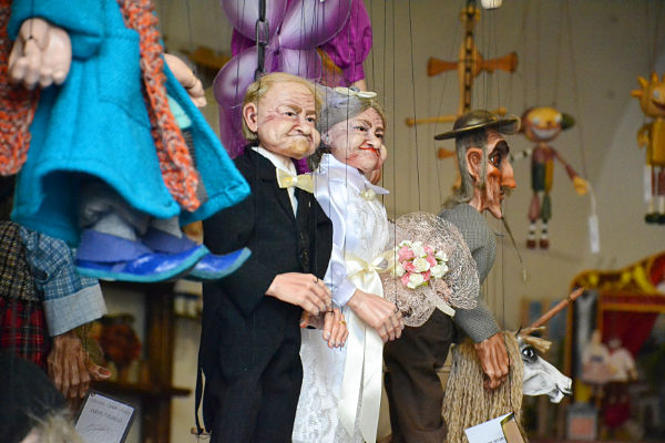 marionette di Praga