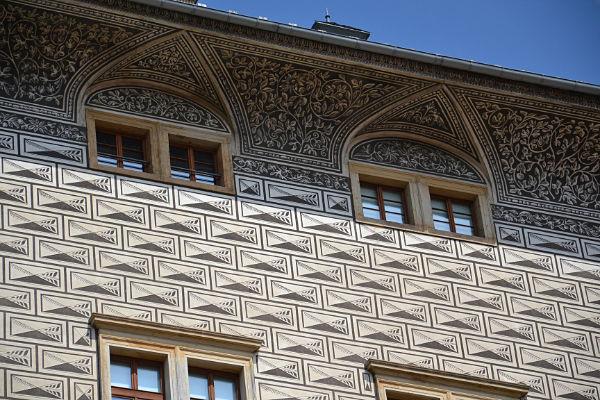 palazzo rinascimentale di Praga