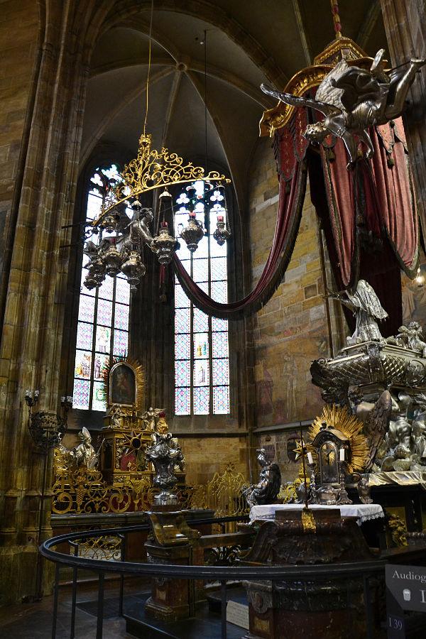 interno della Cattedrale di San Vito a Praga