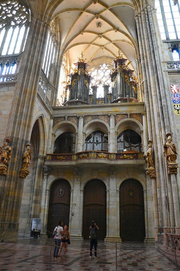 organo Cattedrale di San Vito Praga