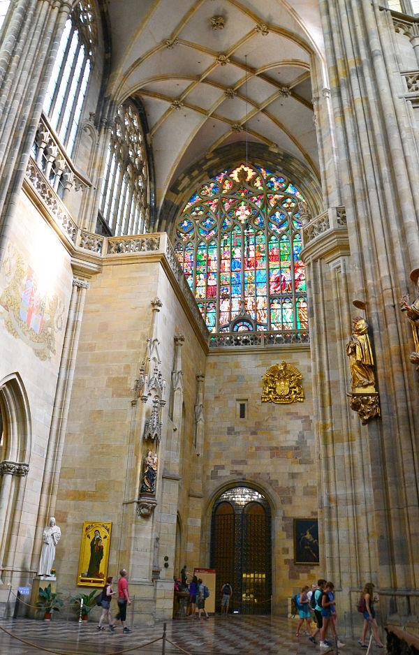 vetrata Cattedrale di San Vito Praga