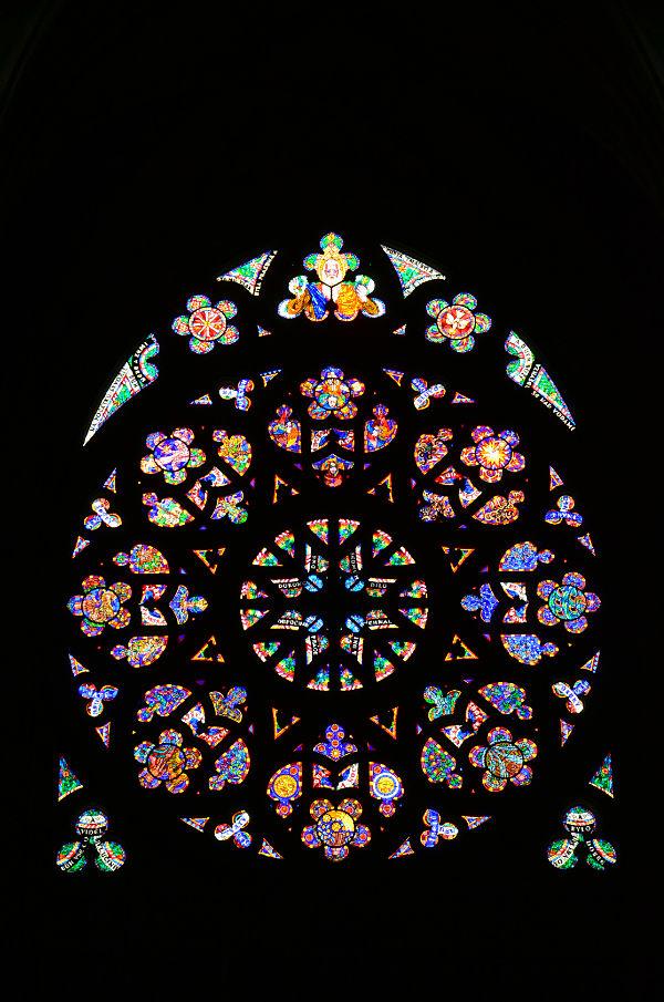 rosone della Cattedrale di San Vito a Praga