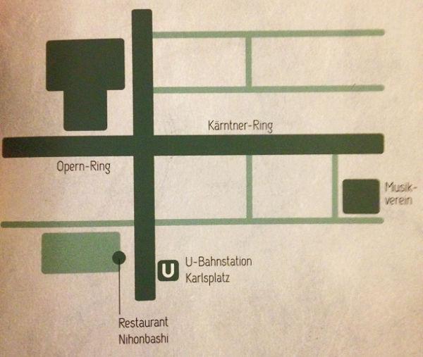mappa Nihon Bashi Vienna